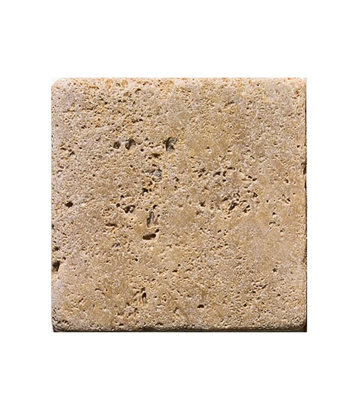 Taco travertino notte envejecido 10x10x0 8cm ondacer s l for Marmol piedra natural