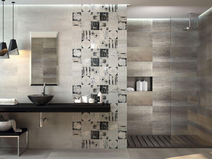 Comprar azulejos ba o del ambiente collage smoke ondacer for Bathroom ideas 2017 australia