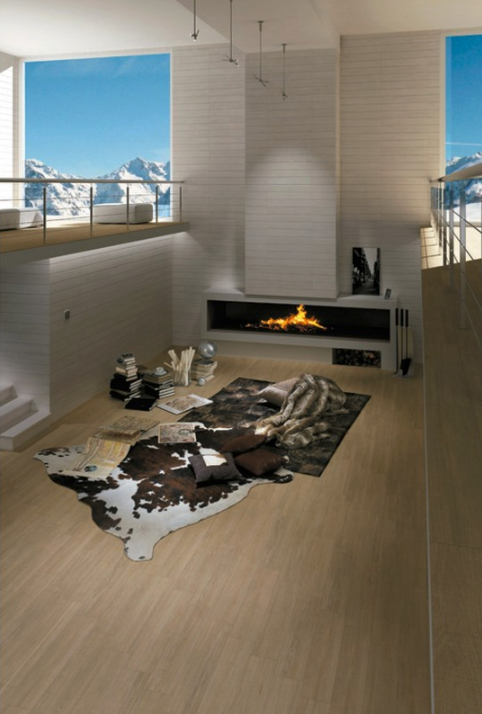 wood imitation porcelain floor