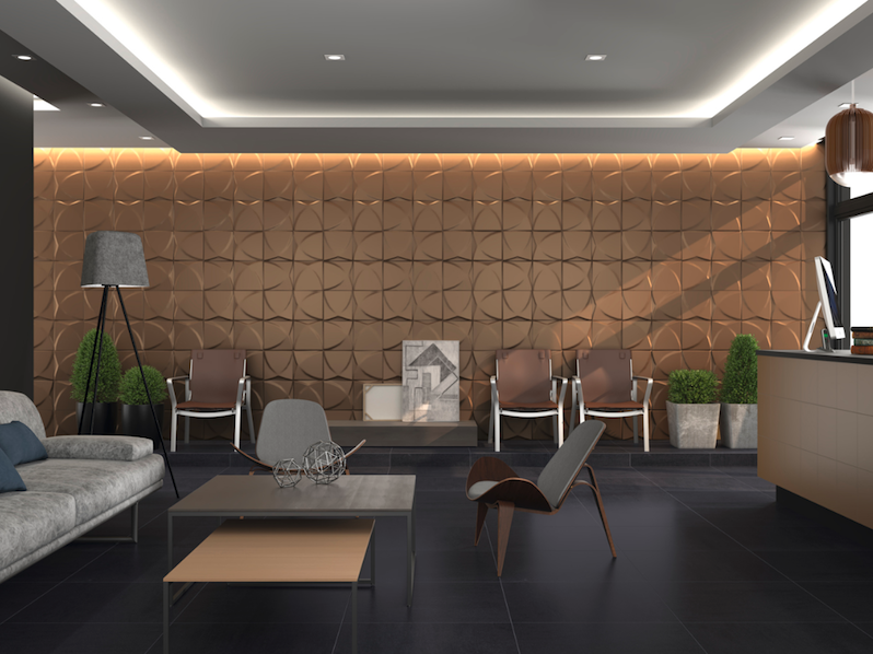 tiles to decorate hotels