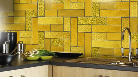 BORING KITCHEN? LET INTRODUCE COLOUR!