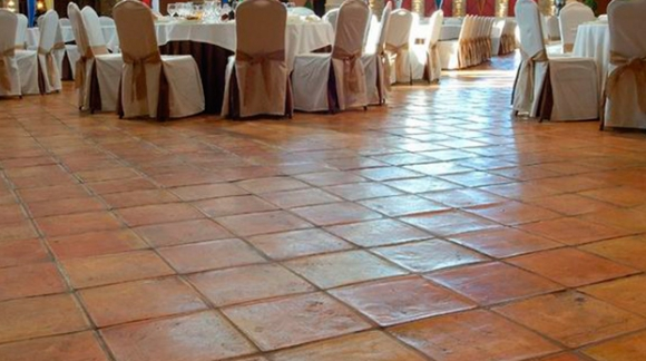 TERRACOTTA, A HANDMADE DRESSING FLOOR TILE OF OUR HOME
