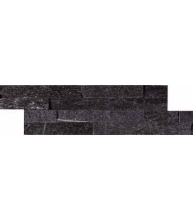 Fachaleta Quartz Negra 15x60cm.