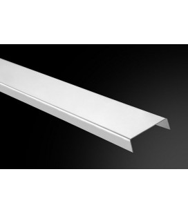 Listelo Cuadrado Acero LC-25/C 250cm.