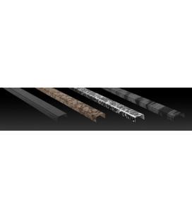Listelo Cuadrado Acero Decorado LC-15 120cm.