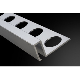 Perfil y Listelo 12-6 Aluminio 260cm.