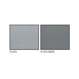 Perfil Classic 12,5 mm. Aluminio 260cm..