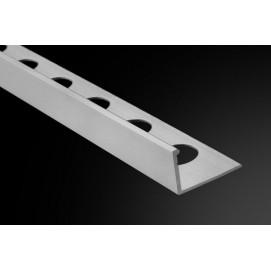 Perfil Recto 9,5-R Aluminio 260cm.