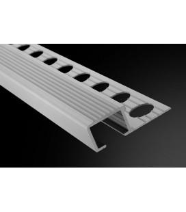 Peldaño-13 Aluminio 250cm.