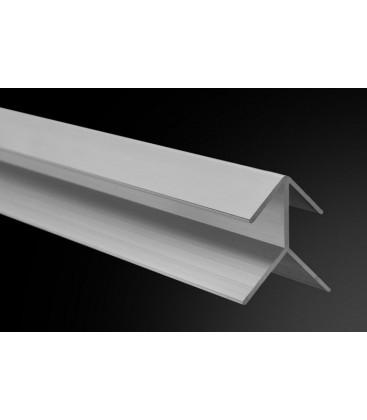 Perfil Flecha Aluminio 260cm.