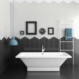 Chevron Bath