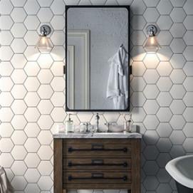 Manhattan Hexagonal Cev Bath