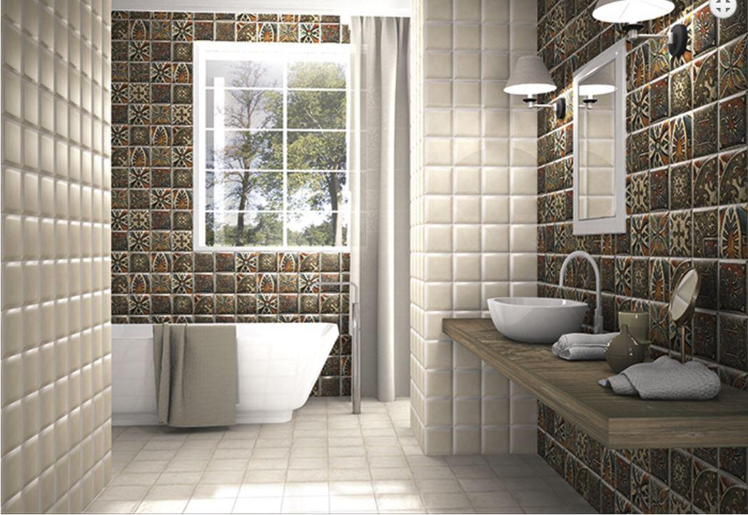 Comprar azulejos ba o del ambiente bombato da vinci bath for Comprar azulejos para bano