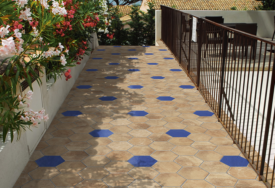 Comprar pavimento ambiente boston hexagono ondacer s l for Azulejos para terraza baratos