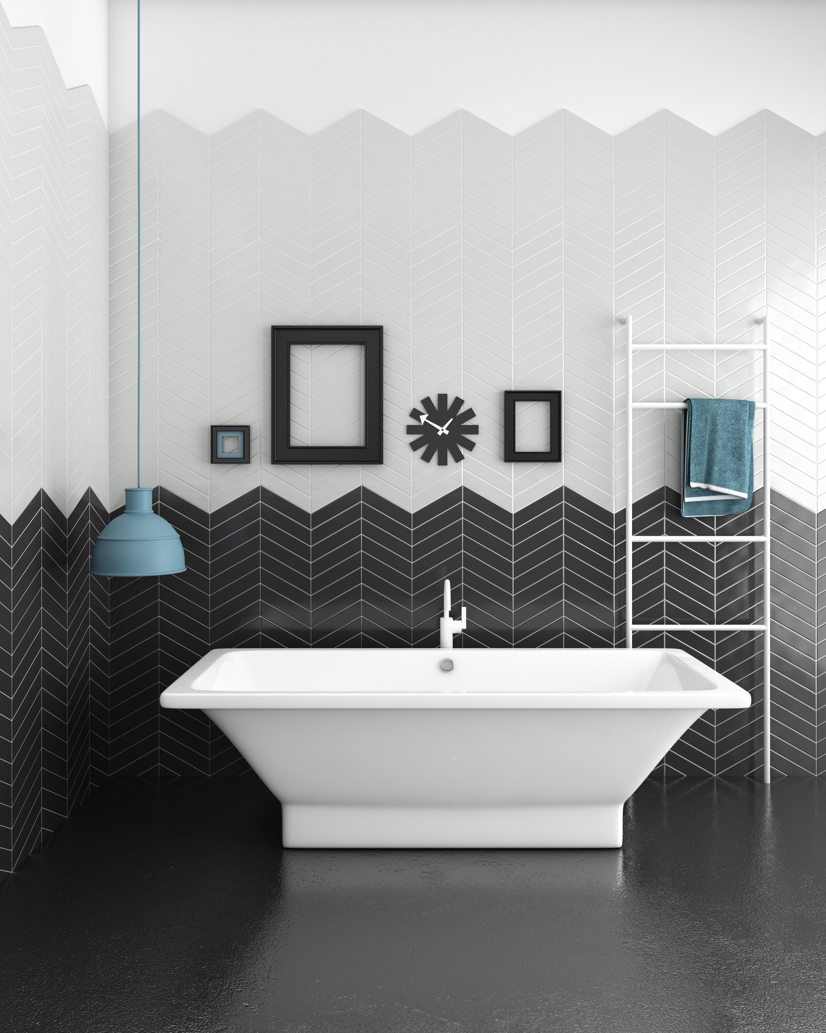 Salle De Bain Azulejos ~ comprar azulejos ba o del ambiente chevron bath ondacer s l