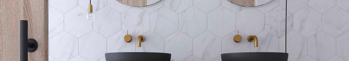 Comprar ceramica Calacatta Hexagon