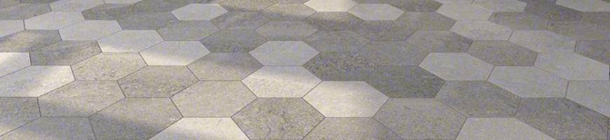 Comprar pavimento ambiente hexagonal benson ondacer s l for Pavimento ceramico hexagonal