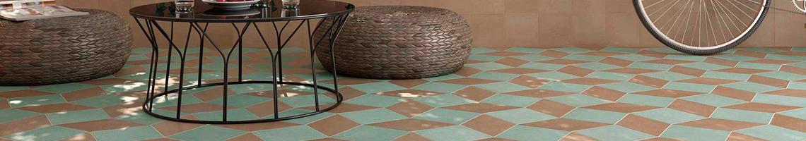 Buy Tiles Mud Diamond Floor