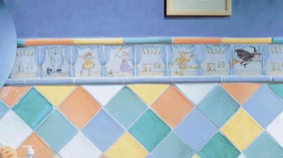 HAND-PAINTED TILES, A DIFFERENT OPTION FOR YOUR DECORATION.