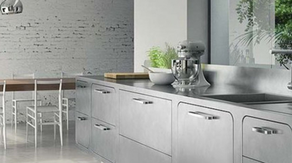 DECORATION IDEAS: INDUSTRIAL-STYLE KITCHEN