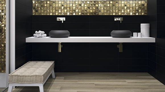 BATHROOMS IN BLACK, WHY NOT?