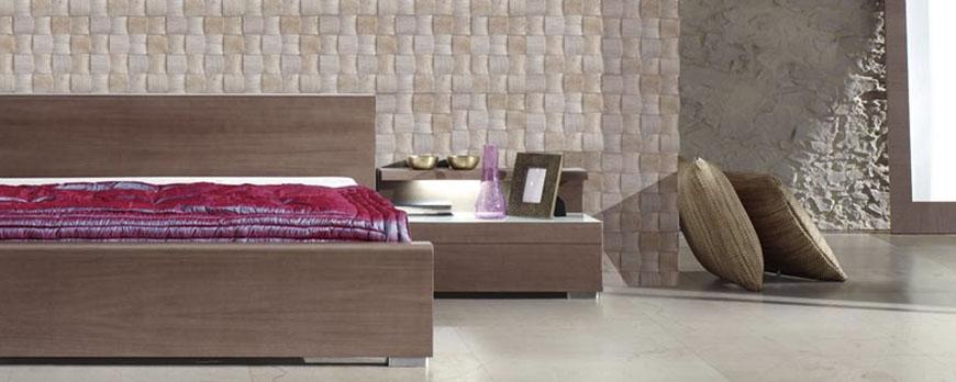 Cabeceros de cama con azulejos o piedra natural una - Cabeceros de piedra ...
