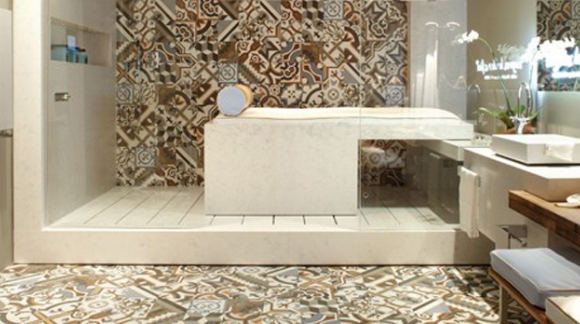 HYDRAULIC MOSAIC IMITATION TILES FOR YOUR DECORATION