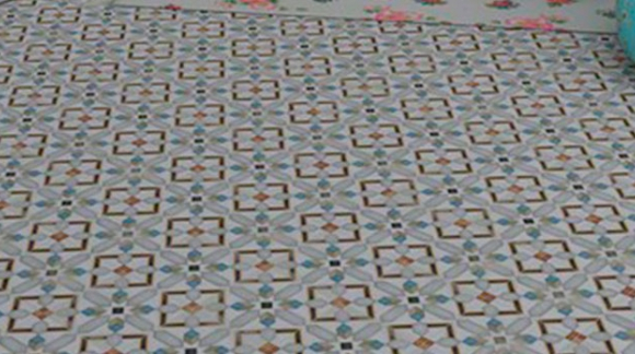HYDRAULIC IMITATION FLOOR TILES, MORE FASHIONABLE THAN EVER