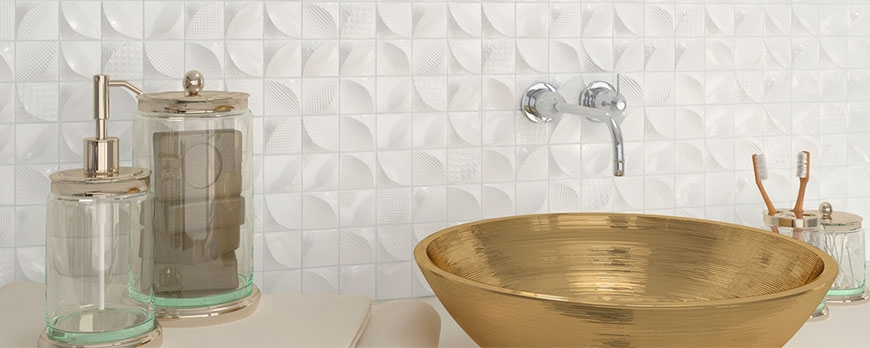 Bathroom equipment, important for the decoration