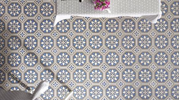 Flores y diseños geométricos ¿Pasados de moda o de plena actualidad?