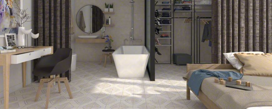 Decorate your spaces with ceramic flooring