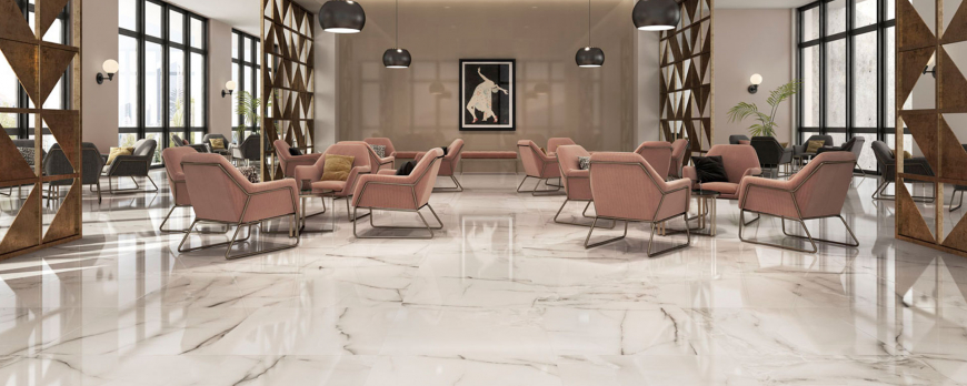 The latest ceramic tiles imitation marble