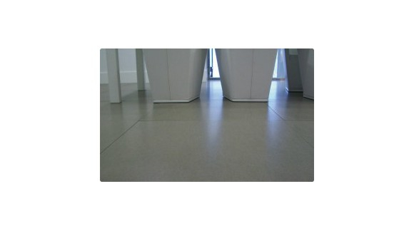 Colocación en seco de pavimento cerámico